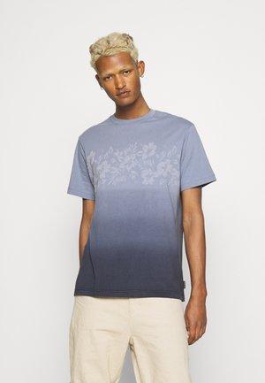 LASER PRINT TEE - T-shirt imprimé - blue