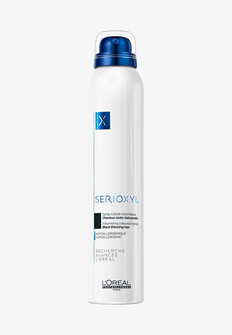 L'Oréal Professionnel - SERIOXYL SPRAY SCHWARZ - Hair colour - -