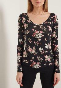 Tezenis - Long sleeved top - nero st.romantic flowers - 0