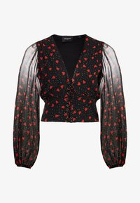 The Kooples - Blouse - black/red - 3