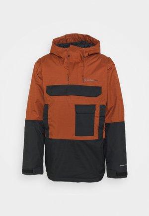 BUCKHOLLOW™ INSULATED ANORAK - Winter jacket - dark amber/black