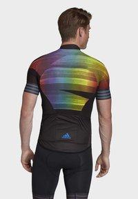 adidas Performance - ADISTAR PRIDE JERSEY - Print T-shirt - black - 2