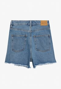 Monki - KELLY - Farkkushortsit - blue medium dusty - 1