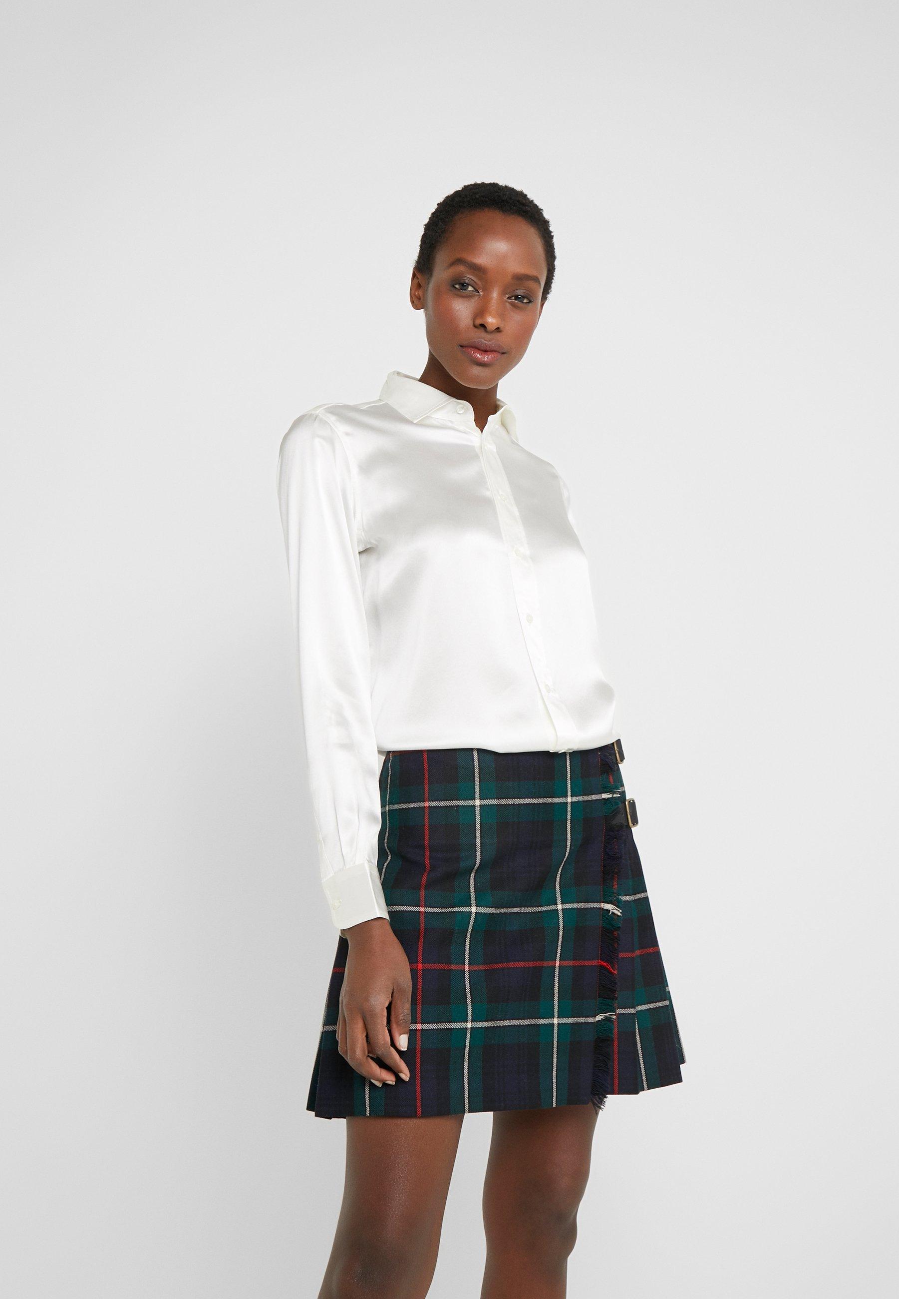 Women LONG SLEEVE SHIRT - Button-down blouse