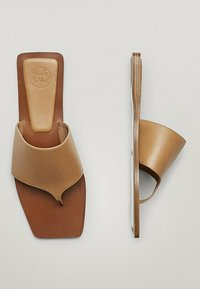 Massimo Dutti - JOIN LIFE - Mules - brown - 4