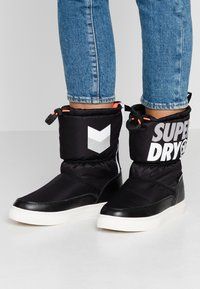 Superdry - JAPAN EDITION - Winter boots - black - 0