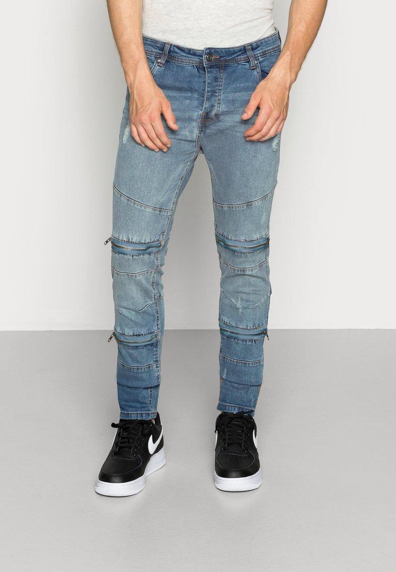 Brave Soul - ELBA - Jeans slim fit - blue