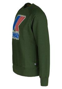 K-Way - EMANUEL  - Sweatshirt - green dk forest - 1