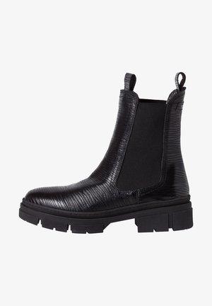 Kotníkové boty - black lea.str.