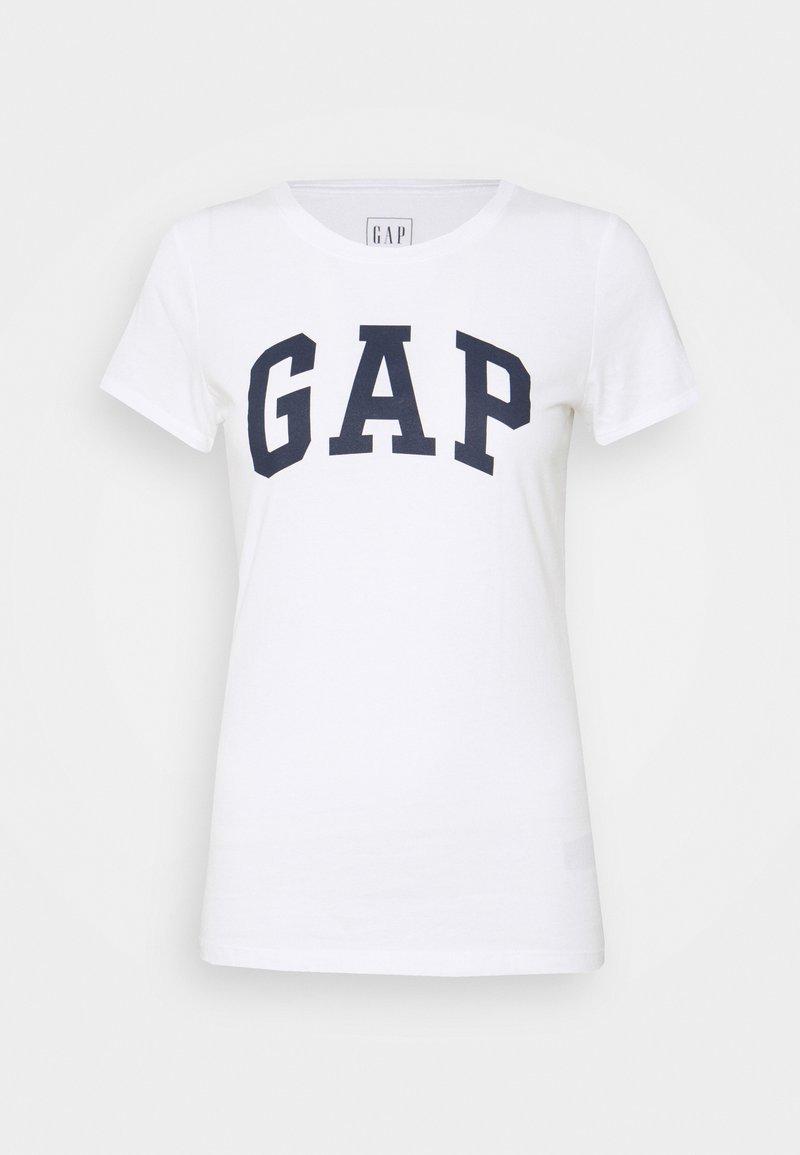 GAP - T-shirt z nadrukiem - white