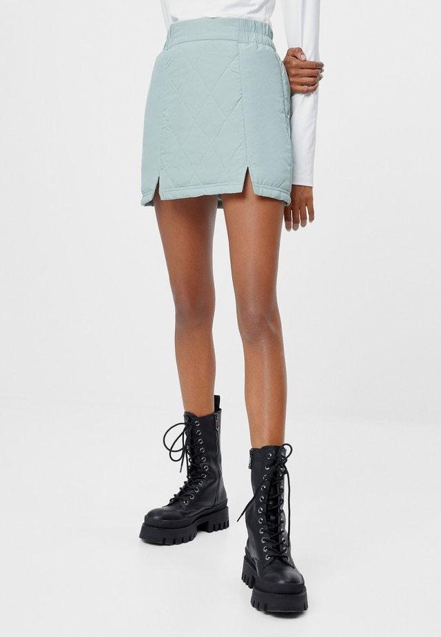 A-linjekjol - turquoise