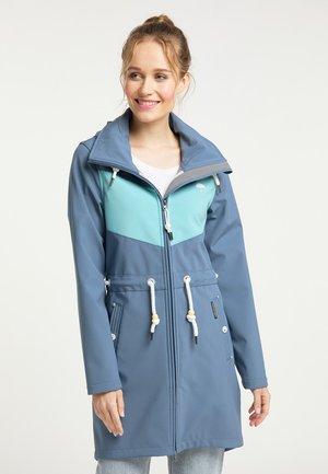 Short coat - graublau