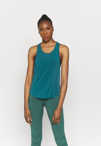 BREATHE MUSCLE LOW ARMHOLE TANK - Top - peacock
