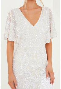 BEAUUT - EMBELLISHED SEQUINS  - Occasion wear - ivory - 4