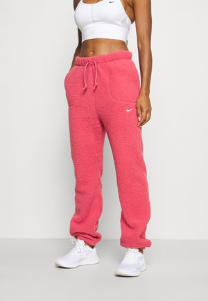 COZY BOTTOM CORE - Tracksuit bottoms - archaeo pink/white