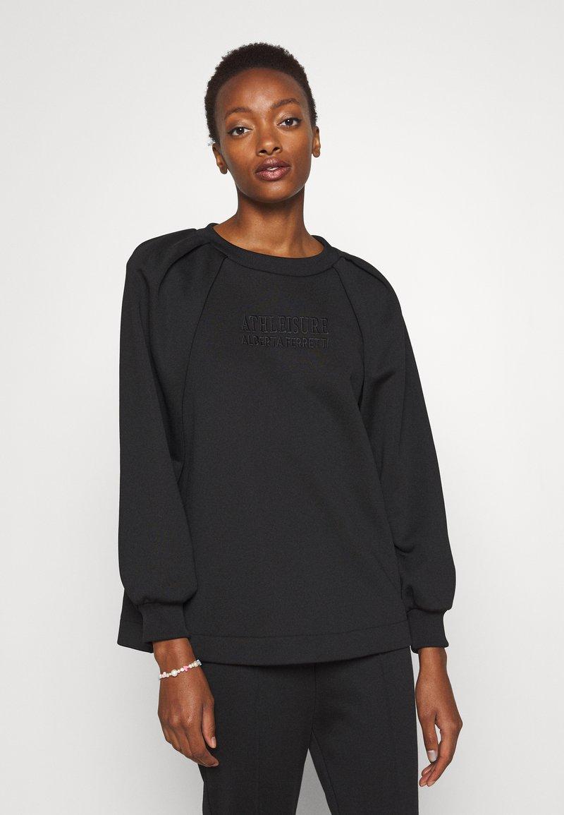Alberta Ferretti - Sweatshirt - black