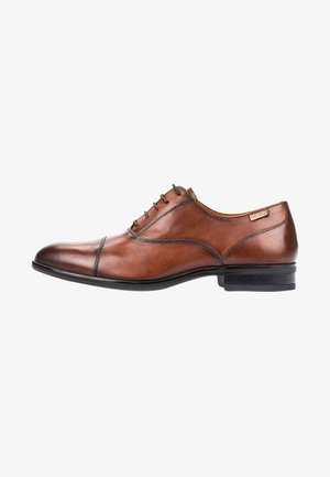 Zapatos con cordones - dark brown