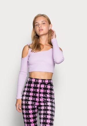 TERM TEE - Long sleeved top - lilac