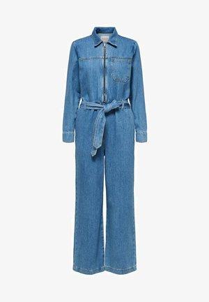 AUSGESTELLTER - Jumpsuit - medium blue denim