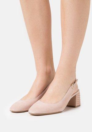 Classic heels - powder