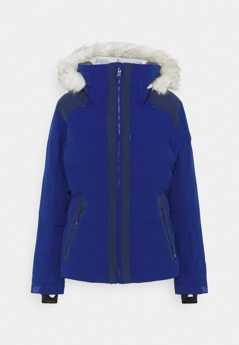 Roxy - CLOUDED - Snowboard jacket - mazarine blue
