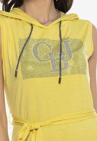 Cipo & Baxx - Jersey dress - yellow - 3