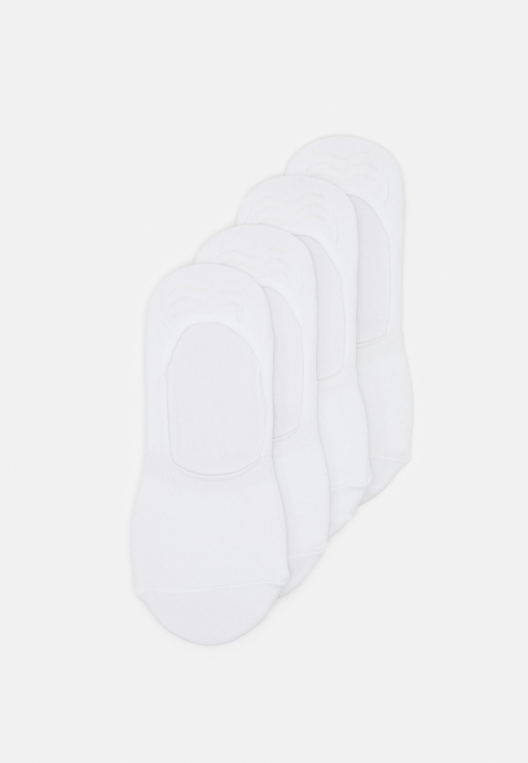Donna PCGILLY FOOTIES 4 PACK - Calzini
