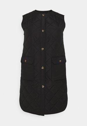CARNAYRA QUILT VEST - Waistcoat - black