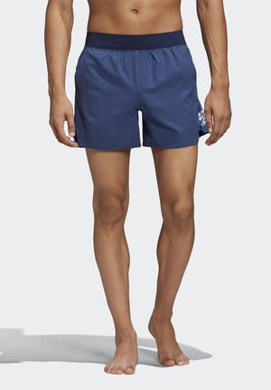 ZIP POCKET TECH SWIM SHORTS - Surfshorts - blue