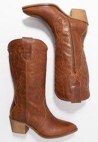 RE:DESIGNED - RYLEE - Cowboy/Biker boots - cognac - 3