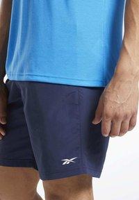 Reebok - UTILITY ESSENTIALS TRAINING 1/2 - Pantaloncini sportivi - blue - 3