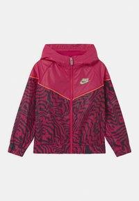 Nike Sportswear - WINDRUNNER  - Training jacket - fireberry - 0