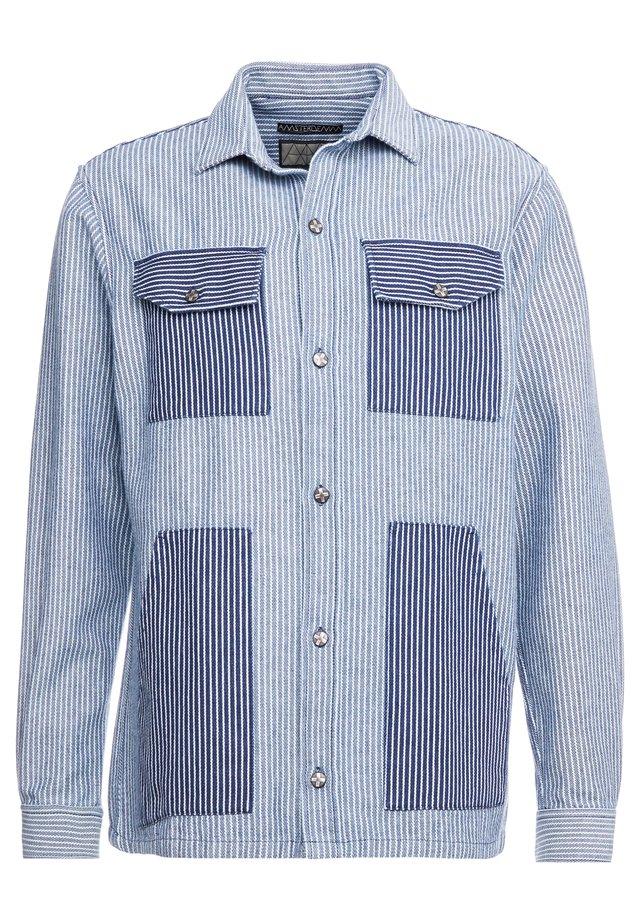 RINUS - Summer jacket - blue