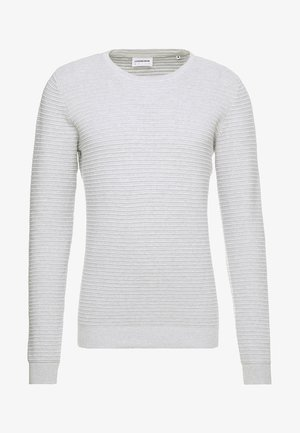 STRUCTURE - Jersey de punto - light grey melange