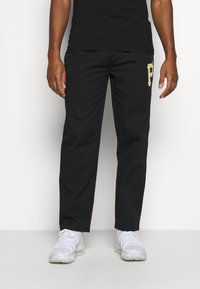 Champion - MLB PREMIUM PITTSBURGH PIRATES STRAIGHT HEM PANTS - Club wear - black - 3