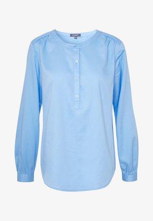 BLOUSE FLUENT  - Blouse - soft charming blue