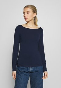 Anna Field - 2 PACK - Long sleeved top - maritime blue/white - 4