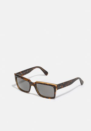 UNISEX - Occhiali da sole - havana/transparent brown