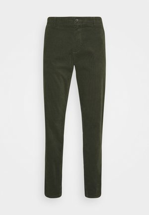 CORD TROUSERS - Broek - army