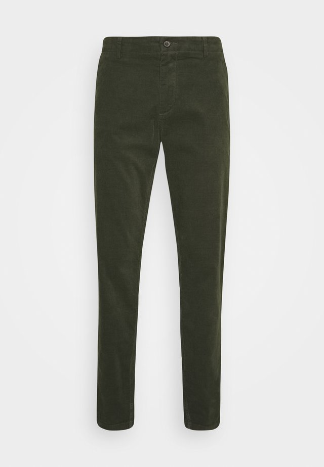 CORD TROUSERS - Trousers - army
