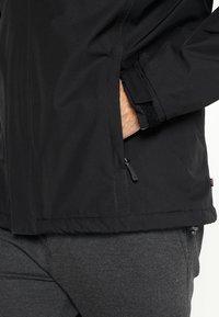 Helly Hansen - DUBLINER INSULATED JACKET - Waterproof jacket - black - 5