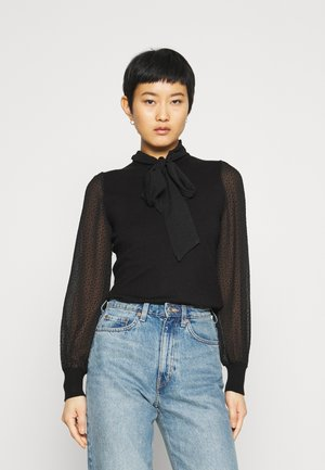 BOW - Blouse - black