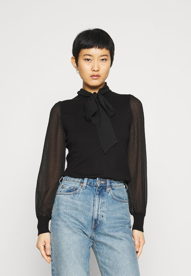 BOW - Bluse - black