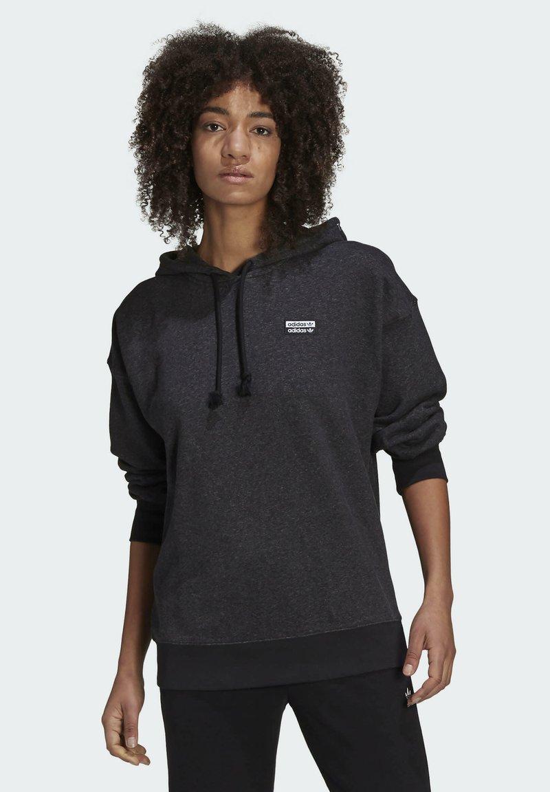 adidas Originals - Sweat à capuche - black melange