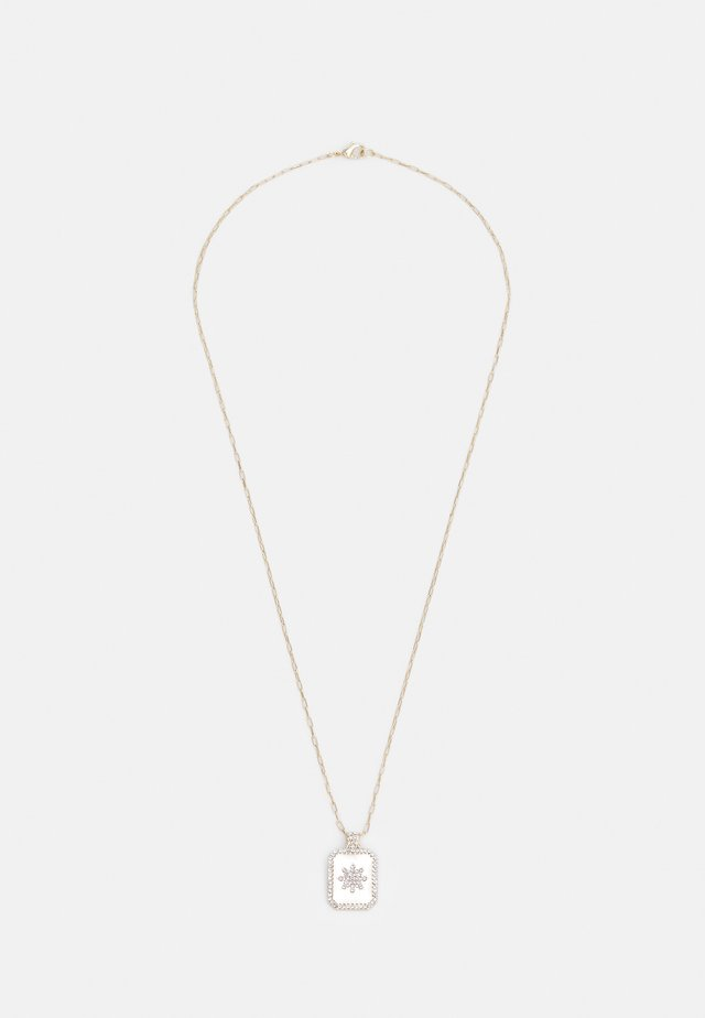 STAR TAG NECKLACE UNISEX - Smykke - gold-coloured