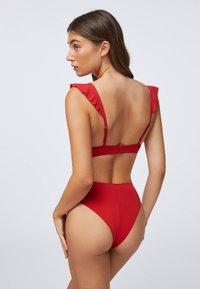 OYSHO - Bikini bottoms - red - 3