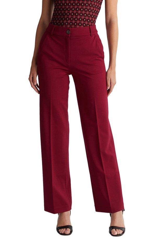 Pantalon classique - bordeaux red