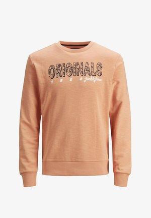 JORLEFO - Sweater - shell coral
