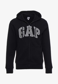 GAP - ARCH - Bluza rozpinana - true black - 3