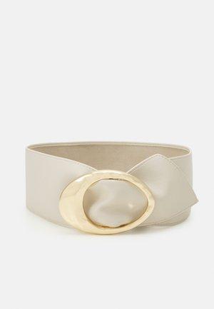 PCNUKINO WAIST BELT - Waist belt - birch/gold-coloured